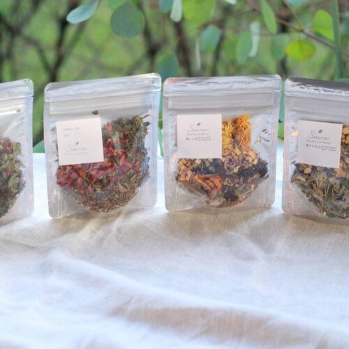 *sucre medicinal herbsよりハーブティが入荷しました